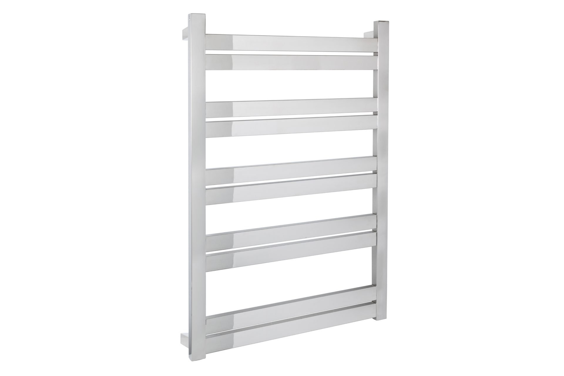 Siena 10 Bar Wide Heated Towel Rail- Chrome