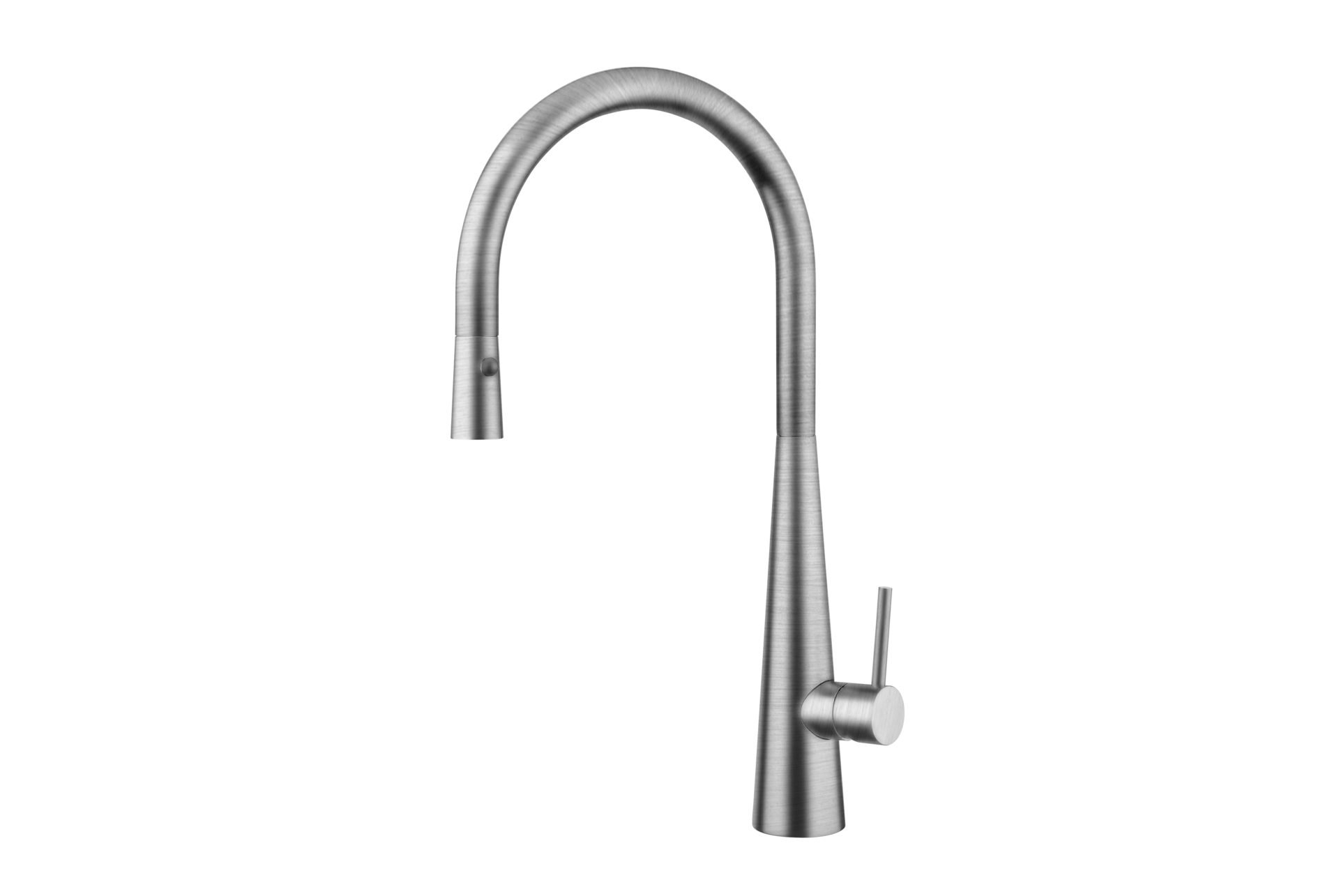 Giacomo Pull Out Sink Mixer with Twin Spray- Brushed Nickel