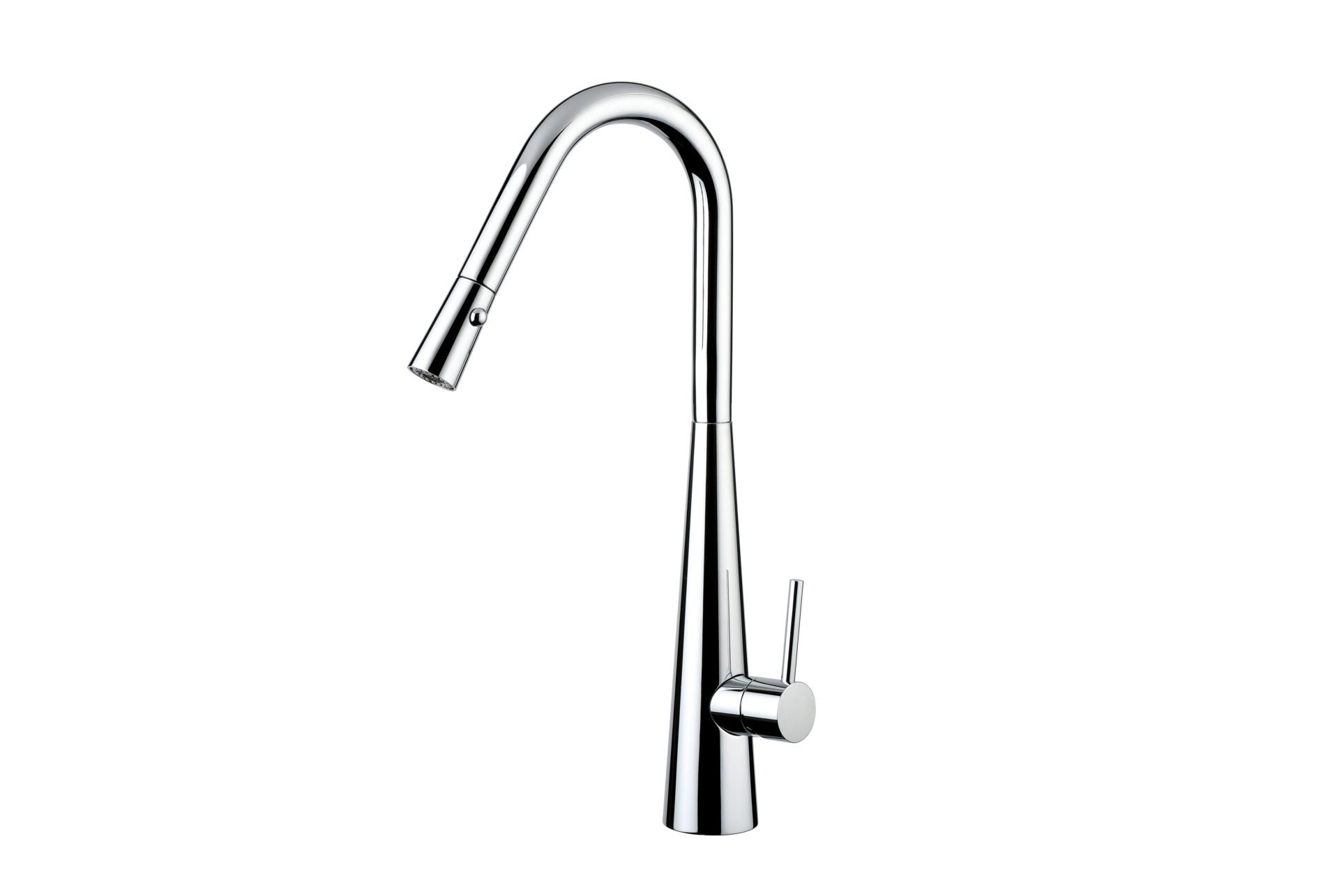Aria Pull Out Sink Mixer with Twin Spray- Chrome