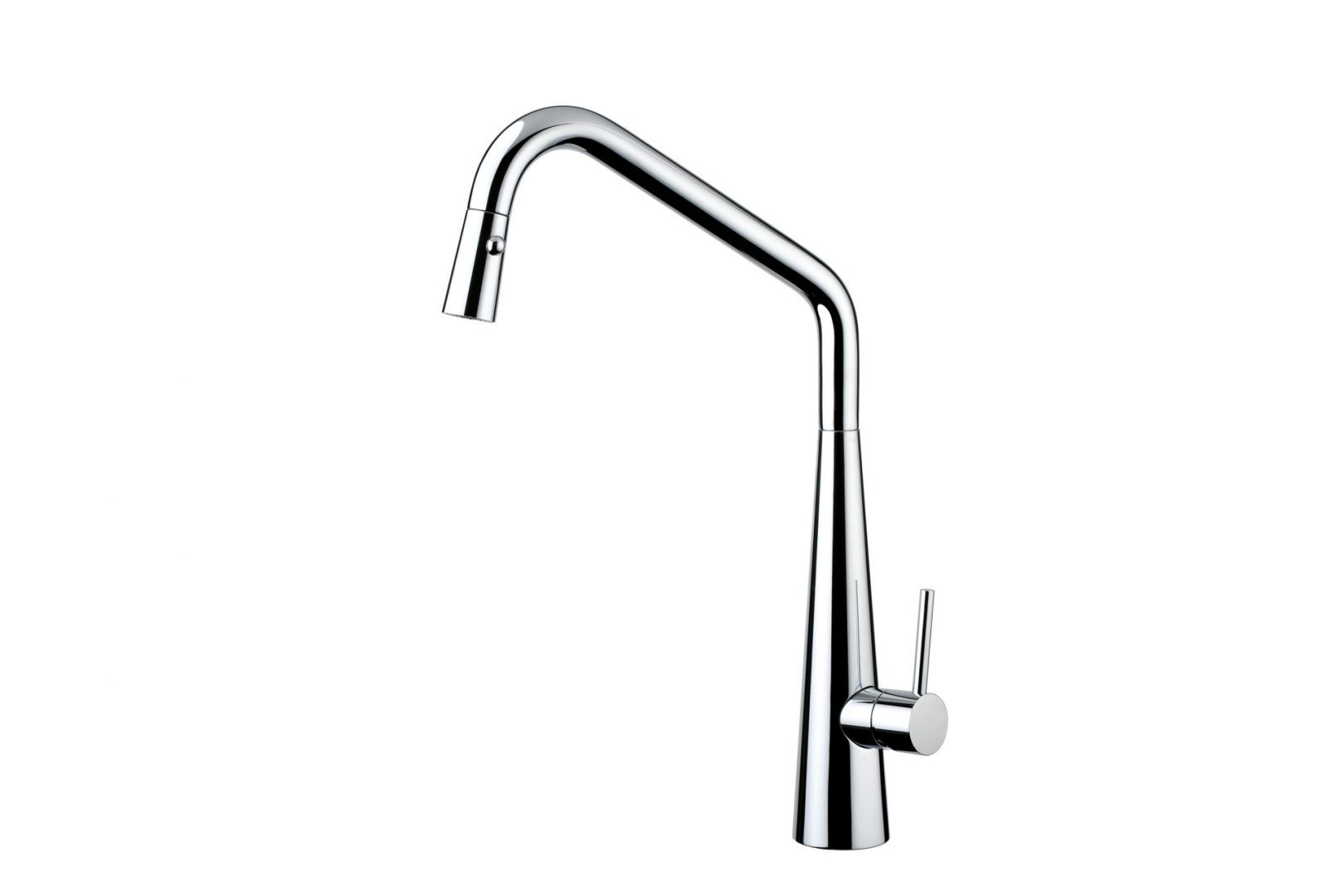 Elias Pull Out Sink Mixer with Twin Spray- Chrome