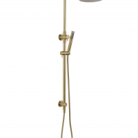 Star Twin Shower System-PVD Brushed Bronze