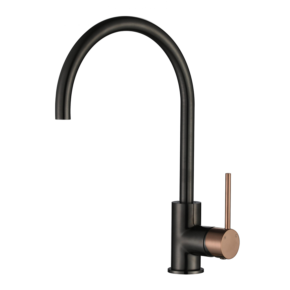 Star Mini Kitchen Mixer-PVD Champagne & Gun Metal