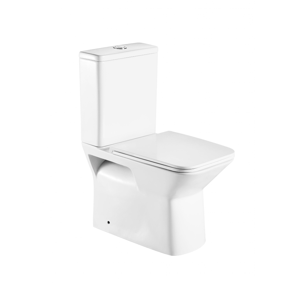 Kira Back to Wall Toilet Suite- Rimless