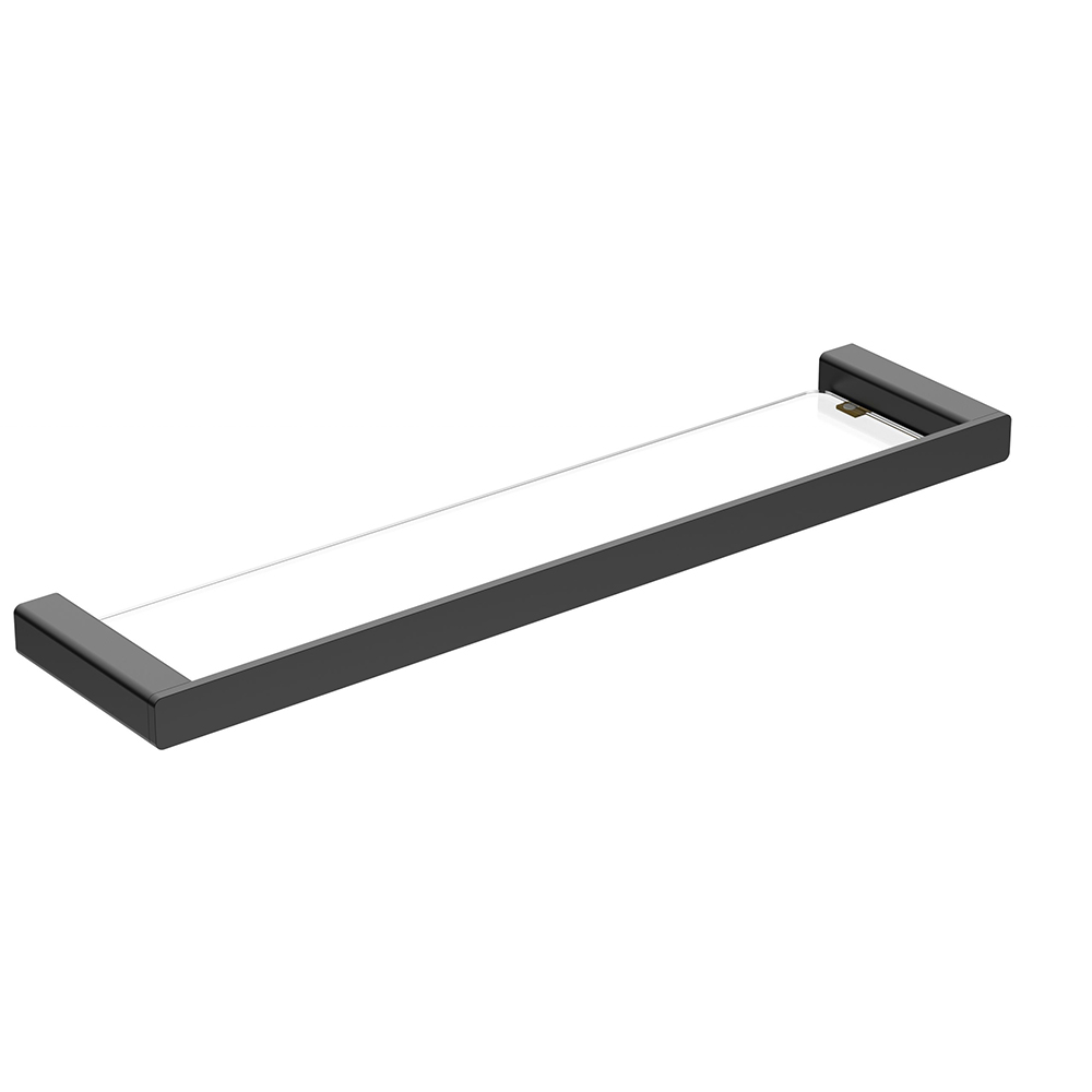 Kasten Glass Shelf-Matt Black