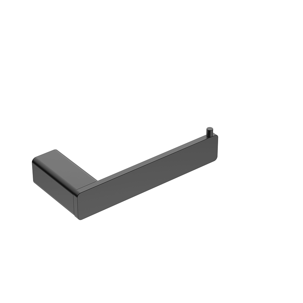 Kasten Toilet Roll Holder-Matt Black