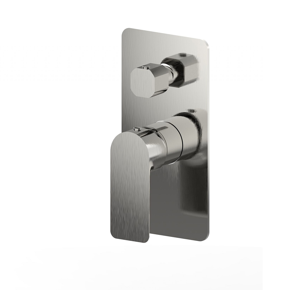 Lex Shower Diverter-Brushed Nickel