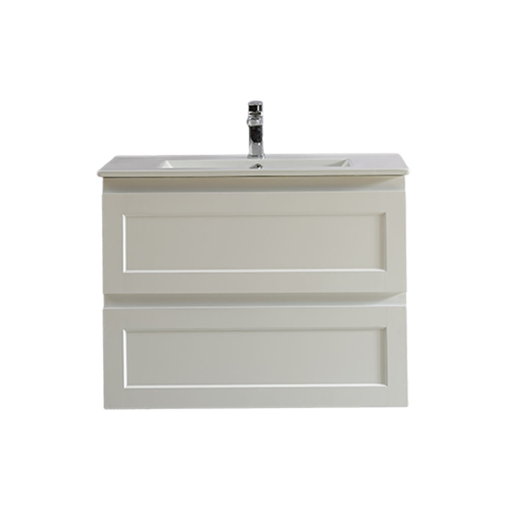 Fremantle 750 Wall Hung Vanity-Matt White