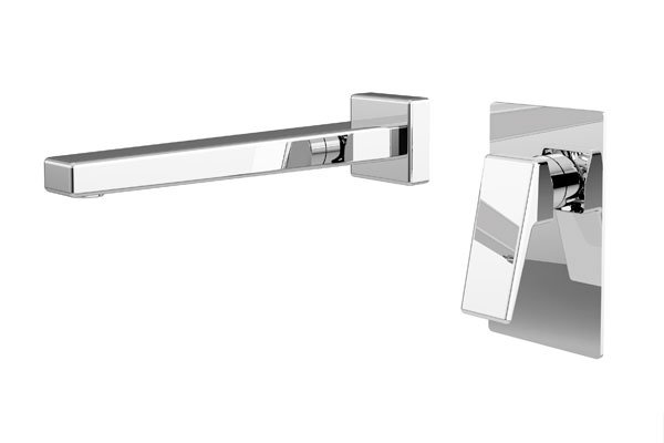 Madi Wall Spout- Chrome