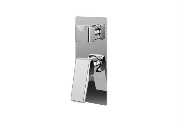 Madi Wall Mixer With Diverter- Chrome