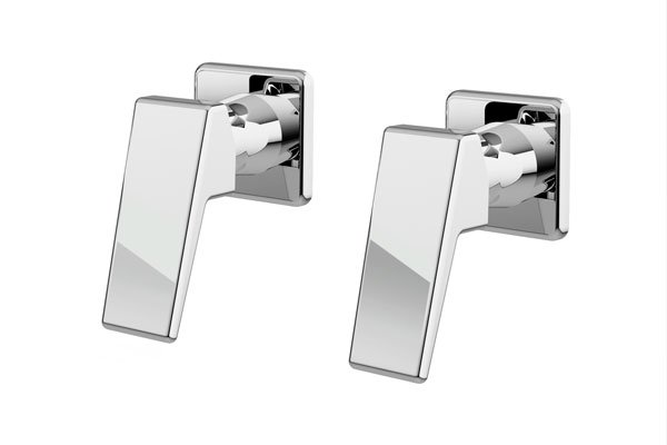 Madi Wall Top Assemblies- Chrome