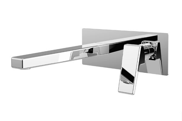 Madi Wall Basin Mixer- Chrome