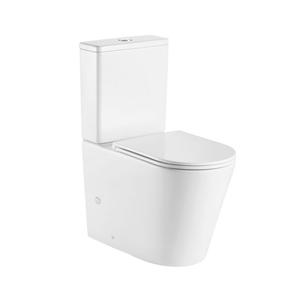 Pani Back To Wall Toilet Suite-Rimless