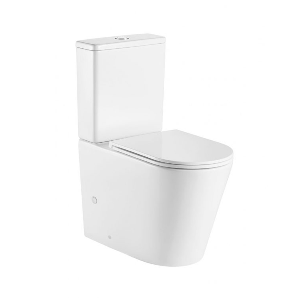 Vera Back To Wall Toilet Suite-Tornado Flush