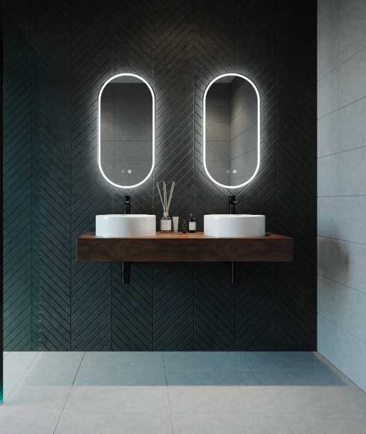 Gatsby 450 Oval LED Mirror