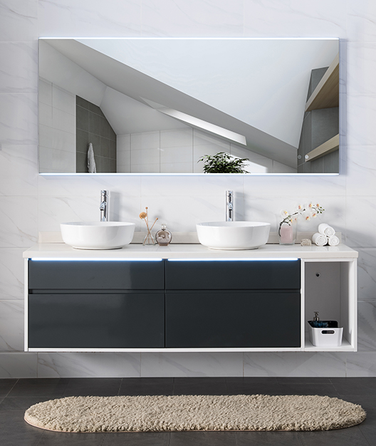 Lucy 1200 LED Mirror